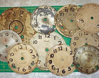 10 Vintage Clock Faces
