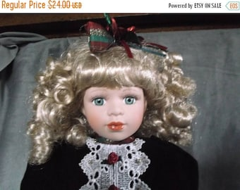 Christmas Sale Noelle Collectible Memories Porcelain Doll