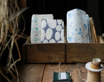 Fion Stewart Paper Bags - Small Bag (Blue Line)
