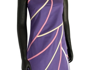 Purple cotton dress from Chilia Clayria