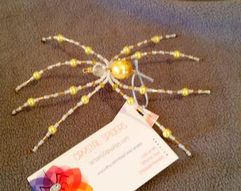 Yellow Pearl Spider
