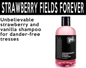 Strawberry Fields Forever. Fair Trade Organic Vegan Cruelty-Free Cosmetics. 5% of Proceeds Proudly Go To Grassroots Charities