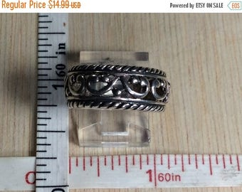 10% OFF 3 day sale 925 Sterling Silver 4.3g Ring Size 7 Signed MWS Used