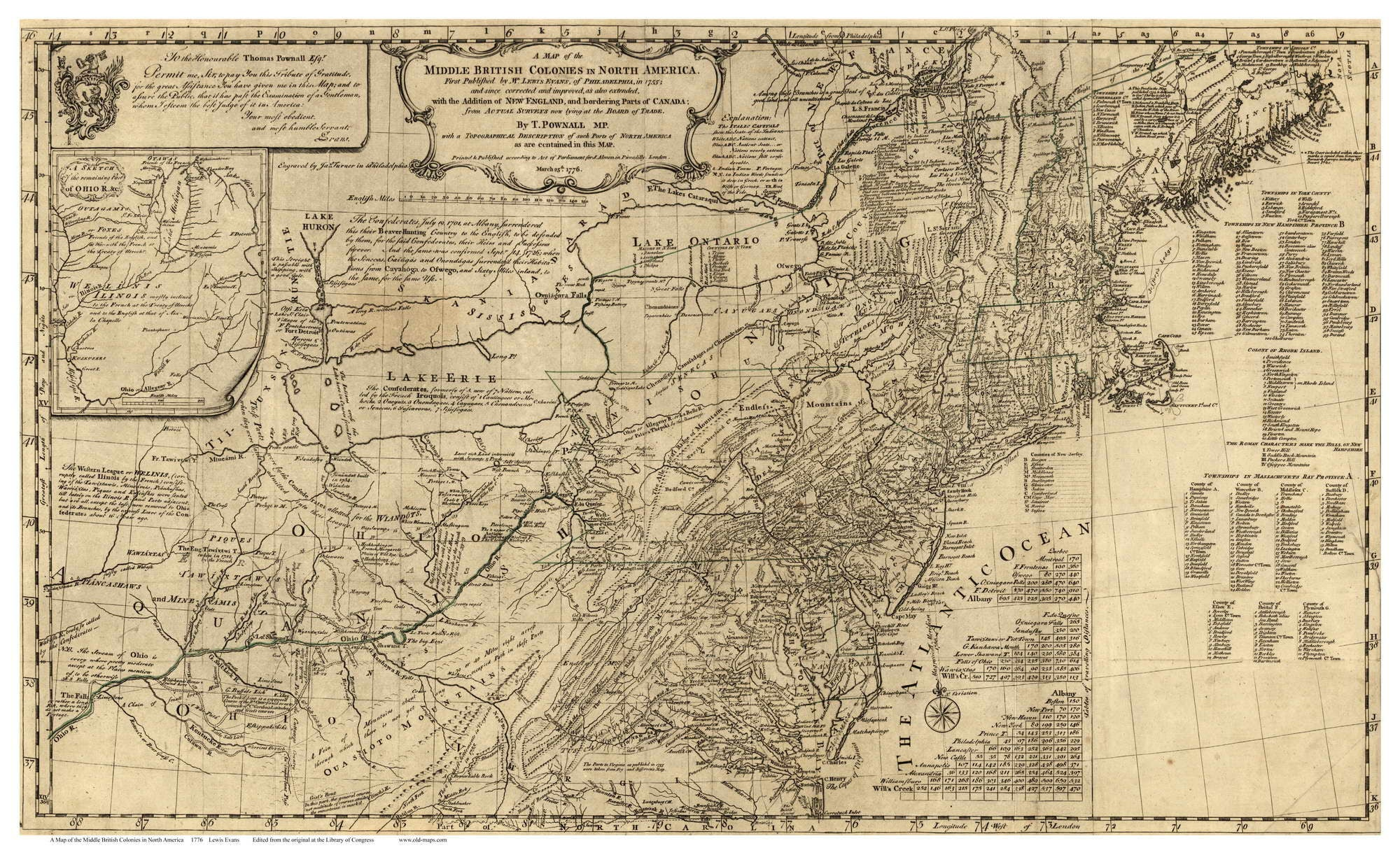 Middle British Colonies In America Map Colonial USA - Colonial us map