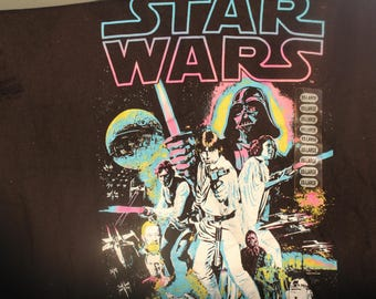 STAR WARS 2013 ; XXL t shirt  one sided  brand new with tags