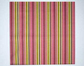 Indian Summer - Pink stripes (x 1 meter)