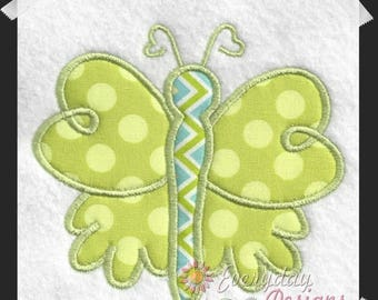 ON SALE Lovely Butterfly Machine Embroidery Applique' Design