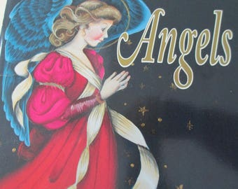 "K Vintage Tole painting ""Angels"" by DeLane Lange1993 used booklet 68 pages"