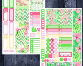 Tropical Vacation Kit for Personal Planner