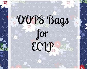 Oops Bags for Erin Condren Vertical Layout