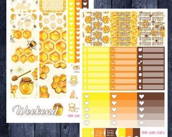 Weekend Sale Busy Bee Kit for Erin Condren Life Planner