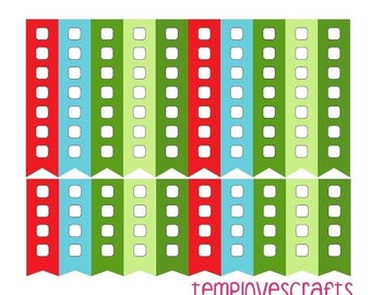 Weekend Sale Strawberry Patch Task Flags for Erin Condren Life Planner or any Planner