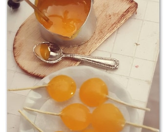 home lollipop preparation set 1/12 scale