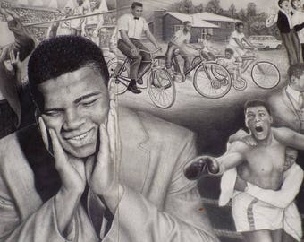 Muhammed Ali Artwork