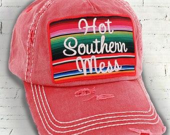Women's Baseball Hat, Distressed Hat Cap, Women's Hat, Baseball Hat, Women's Cap, Free Spirit Hat, Distressed Cap, Distressed Hat, Cute Hat
