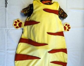 Sleeping bag Tigger, achievable in cat dog rabbit...
