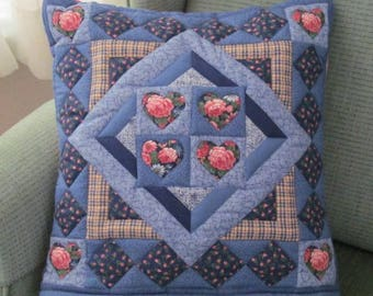 Quilted Pillow Throw or Quillow
