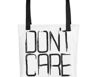 Don't Care - Tote bag