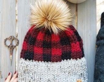 True North Toque Knitting Pattern