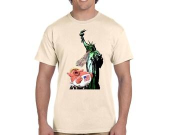 Lady Liberty Vomit Tee