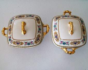 Bawo & Dotter Peronne Limoges Elite France Covered Casseroles