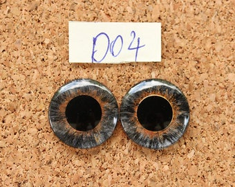 Eye Chips For Blythe Doll  Hand painted pair of eye chips no.D04