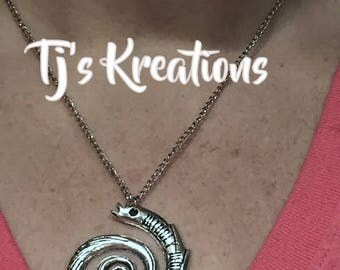 Wibbly Wobbly Timey whimey Necklace dr who