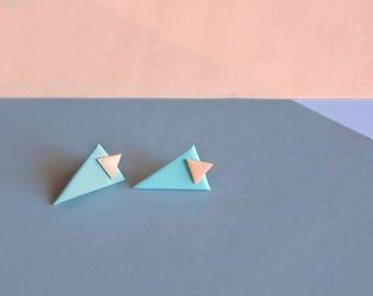 Quiévy Earrings · Ear Earrings · Minimum earrings · Triangle Earrings · Geometric Earrings · Designer Jewelry
