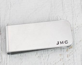 Personalized Money Clip, Simple Custom Money Holder, Dad Gift, Gift for Him, Engraved Money Clip, Money Holder for Dad, Gift for Boyfriend