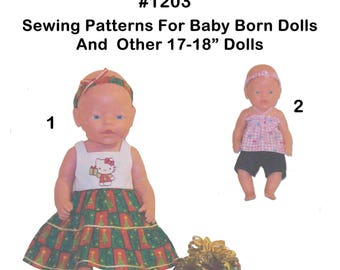 Baby Born 16-17 inch and other dolls of similar size #1203
