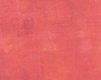 Moda Grunge Basics Salmon Orange Peach Pink Modern Mottled Background Fabric 30150-250 BTY