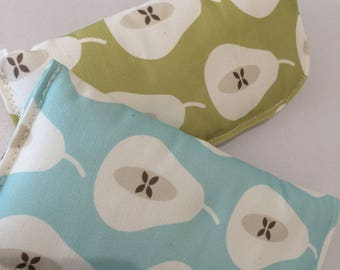 Glasses case - Retro pear fabric