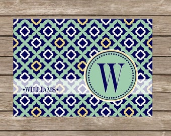 Monogram Notecards - Set of 20