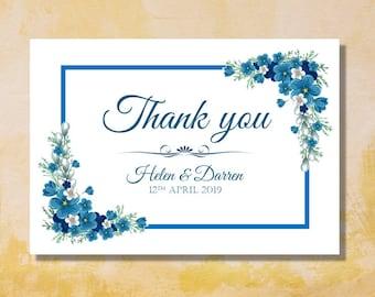 """Thank you card """"Helen"""""""
