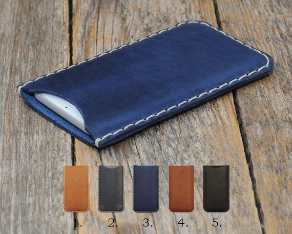 ZTE Blade X Max XL Max 3 Prestige 2 V8 Pro Grand 4 Avid Trio Tempo Fanfare Axon 7 mini Case Handmade Cover Waxed Leather Sleeve Custom Sizes