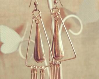Vintage Chandelier Style Earrings