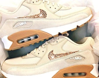 Nike Air Max 90 ~ Custom Shoes ~ Bling Nike Shoes ~ Nike Swarovski ~ Bling Shoes ~ Workout Shoes ~ Nike Shoes ~ Swarovski Nike ~ Bling Nikes