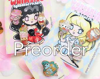 PREORDER Wonderland Pin Set