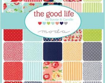 PRESALE Half Yard Bundle The Good Life (40) by Bonnie and Camille for Moda Fabrics Half Yards