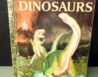 Dinosaurs - A Little Golden Book - 1972