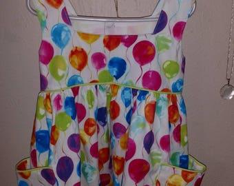 3T Birthday Balloon Dress