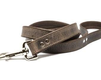 Crazy Horse - 4ft Leather Dog Leash