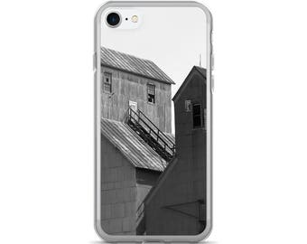 iPhone 7/7 Plus Case - Red Silo Original Art - Twin Towers