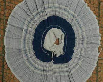 Hmong hill tribe skirt costume hmong hemp (H300)