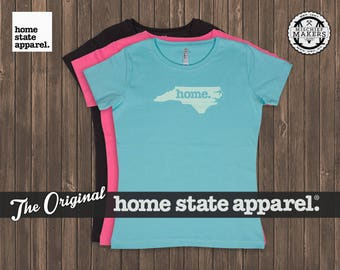 North Carolina Home. T-shirt- Women's Relaxed Fit