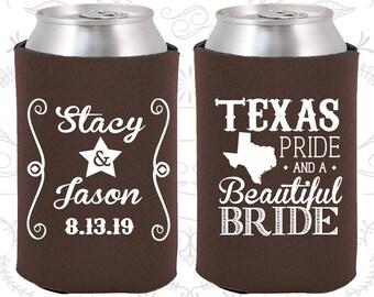 Chocolate Brown Wedding, Chocolate Brown Can Coolers, Chocolate Brown Wedding Favors, Chocolate Brown Wedding Decor (214)