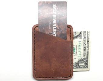 Leather 3-pocket Wallet