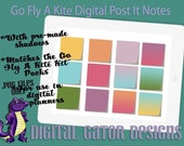 Go Fly A Kite Digital Post It Notes