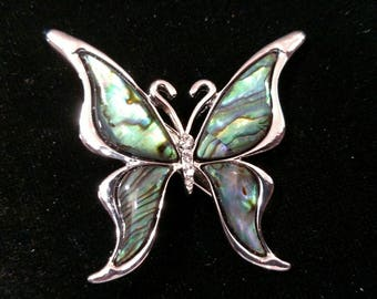 Beautiful Shell Butterfly Hair Jewelry