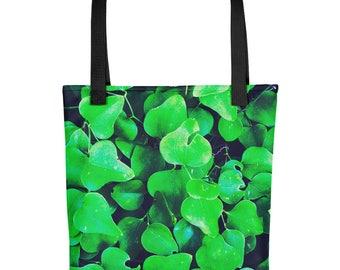 Green Ivy Tote bag - 15 x 15 tote